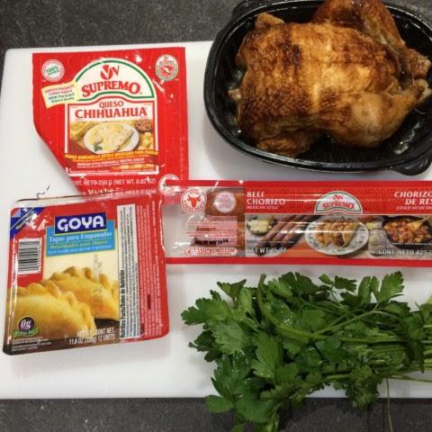 Ingredients for Empanadas