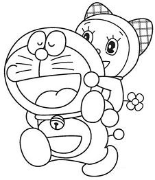 Doraemon Flying 1 Coloring Page Free Coloring Pages Online