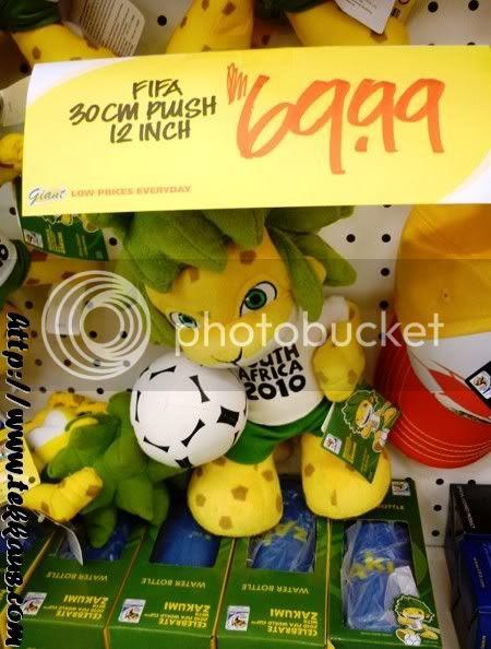 World Cup Fever, Zakumi