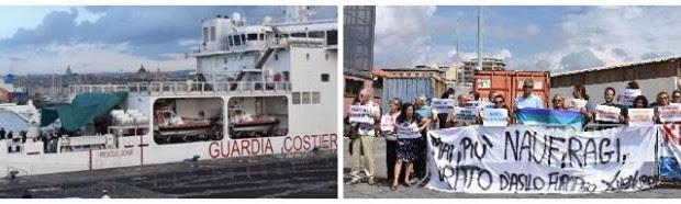 Redazione di Operai contro, Per ordine del signor Salvini ad una nave della marina italiana per diversi giorni è stato impedito di entrare in un porto italiano Per ordine del […]