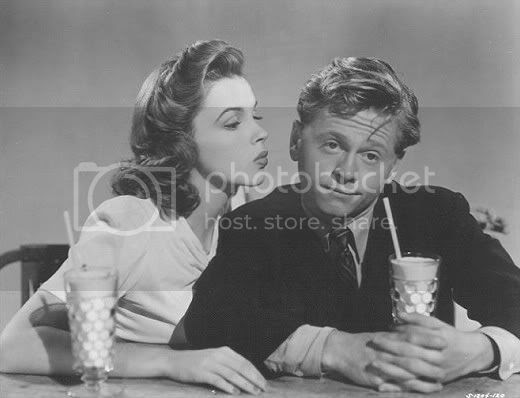 Judy Garland and Mickey Rooney in 'Babes on Broadway'