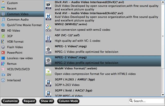 free dvdai mac output format