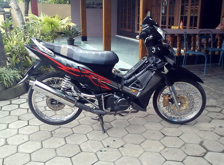 Modifikasi Supra X