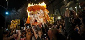 Anti-Trump protest on Nov. 11, 2016