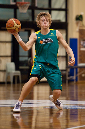 Hugh Greenwood - Boomers - Australian Men's Basketball Team Open Training Session, The Southport School, Queensland, Australia; 28 July 2011. Photos by Des Thureson:  http://disci.smugmug.com.
