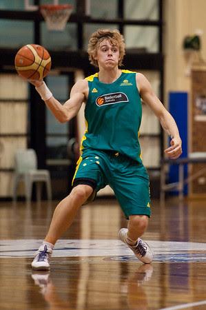 Hugh Greenwood - Boomers - Australian Men's Basketball Team Open Training Session, The Southport School, Queensland, Australia; 28 July 2011. Photos by Des Thureson:  http://disci.smugmug.com.