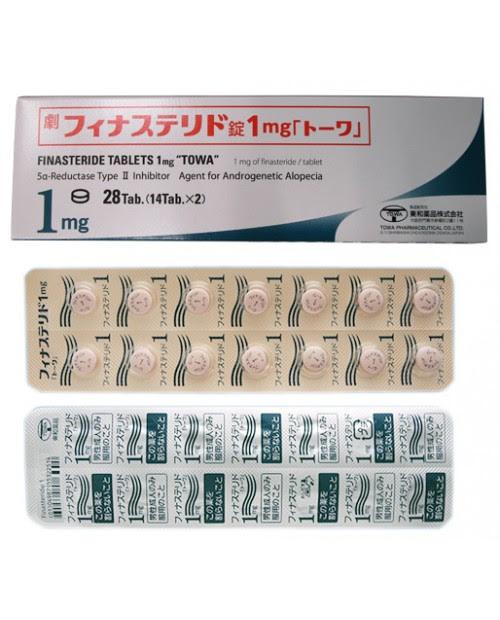 Towa Finasteride Tablets 1mg X 28 Tab Beauty International Japan