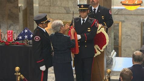 washington firefighters remembered  state capitol komo