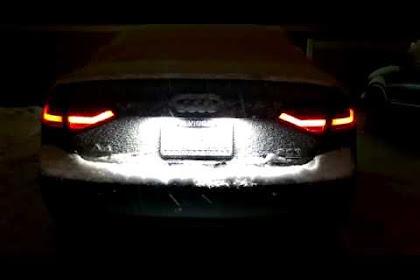 2015 Audi A4 Tail Lights