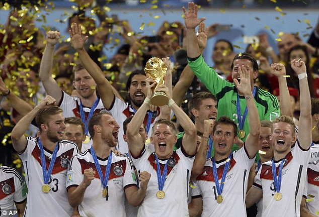 Germany won the World Cup back in 2014 - the tournament will soon have 48 teams