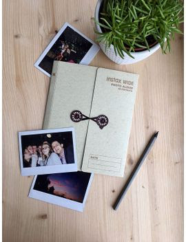 Shoptagr Instax Photo Album For Fujifilm Instax Wide 300 210 200