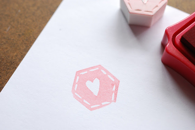 Making Hexagon Stamps