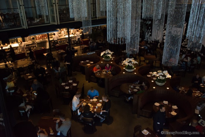 Dining Area as viewed from above