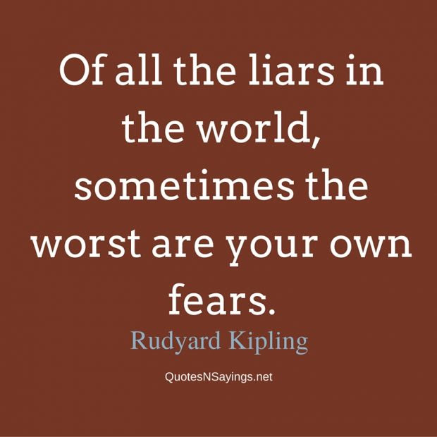 Rudyard Kipling Quote Of All The Liars