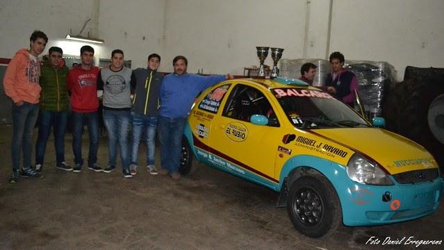 Martin Nucciarone celebró el 2° de Castelli