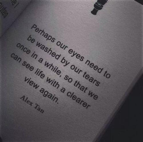 Love Quote Black And White Life Text Depressed Depression Sad Eyes