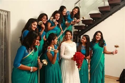 Kerala Christian Wedding #bridesmaids   Weddingz in 2019