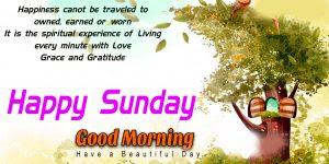 Happy Sunday Good Morning Photo Pics