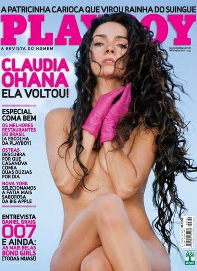 """A atriz posou novamente nua em 2008, aos 45 anos, em ótima forma: """"Faço yoga, não bebo e não fumo""""  diz (Foto: Reprodução Revista Playboy)"""
