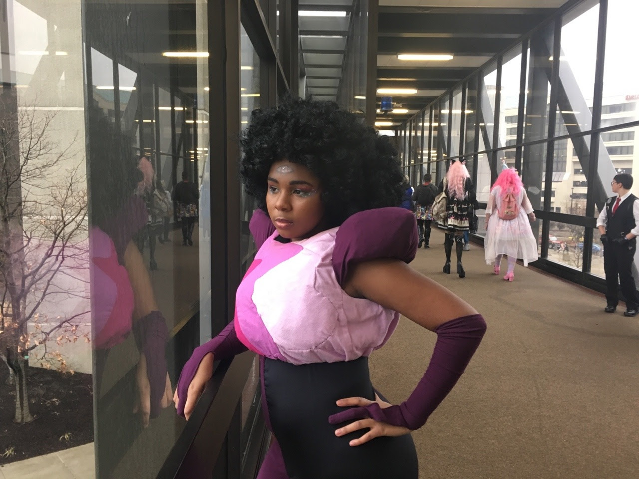 I think Garnet may just be my favorite gem to cosplay of all time….