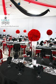 Your Event Solution www.4yes.com Wedding Red and Black