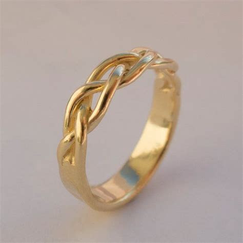 25  best ideas about Braided ring on Pinterest   Pretty