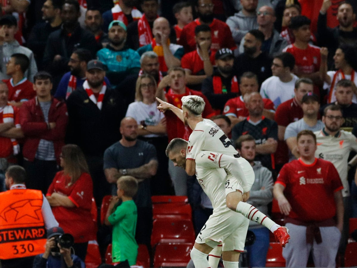 Liverpool vs AC Milan LIVE: Champions League latest score, goals and updates from fixture tonight