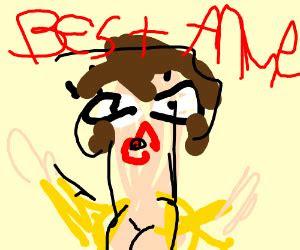 bad anime drawing drawception