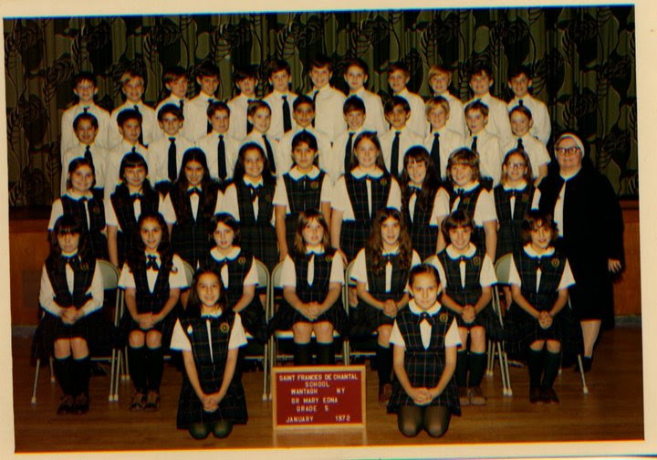 That's me, top row, fifth from the left. Big class, huh?