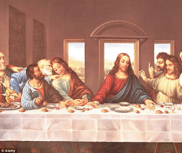 Writers of new book 'The Lost Gospel' claim that Mary Magdalene and Jesus had two children together, they are believed to be portrayed in Da Vinci's The Last Supper