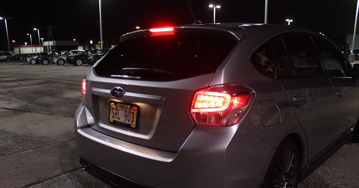 All We U0026 39 Ll Drive  Hybrid Tail Lights On My  U0026 39 12 Impreza Hatchback