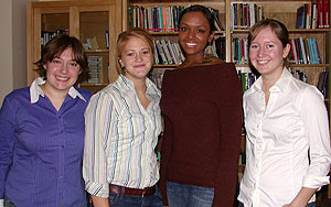 Mount Holyoke students