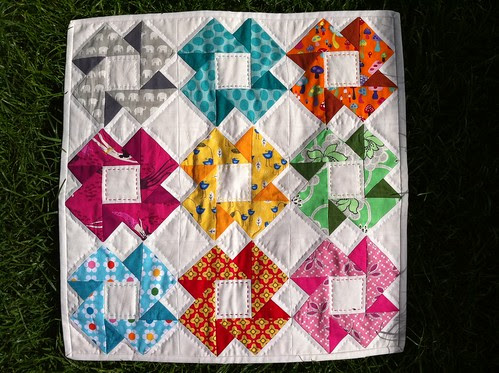 Doll Quilt Swap 11 Finished! by fionapoppy