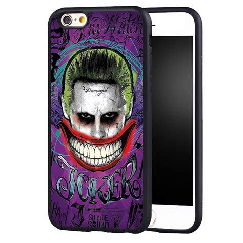 joker hand smile tattoo printed case cover iphone