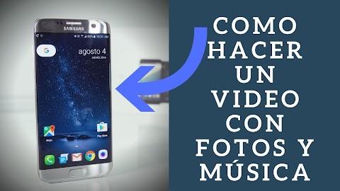Como Hacer Un Video Con Fotos