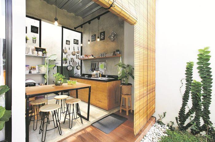 Design Dapur Menyatu Dengan Taman  37 ide terkini dapur dengan konsep terbuka