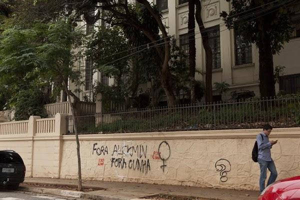 Cenas das ocupações das escolas em São Paulo