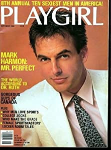 Playgirl Magazine September 1986: Mark Harmon; Naked men ...