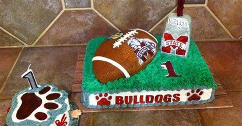 Mississippi State 1st Birthday cake   Desert   Pinterest