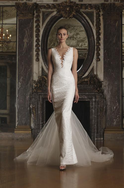 RK6404 | Romona Keveza Luxe Bridal Spring 2016