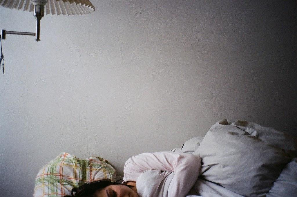 Sleeping me