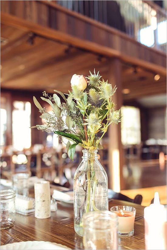 rustic wedding flower arrangements