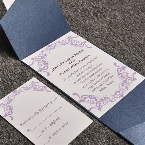 Cheap Pocket Wedding Invitations From