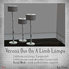 fucifino.verona out on a limb lamps
