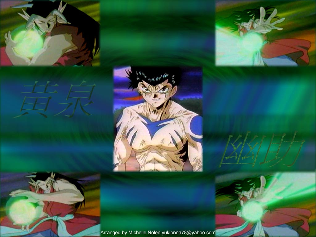 Animemegaverse Com Anime Website Anime Wallpapers Yu Yu Hakusho