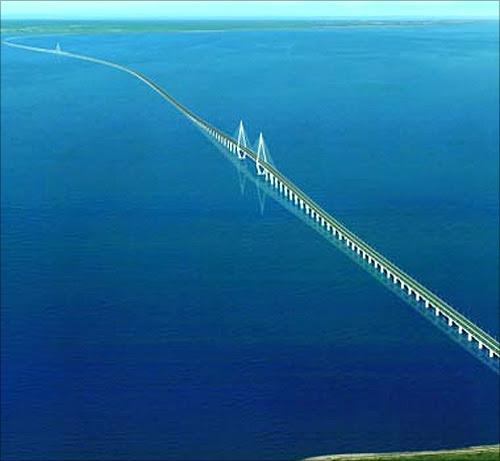 Hangzhou Bay Bridge, China