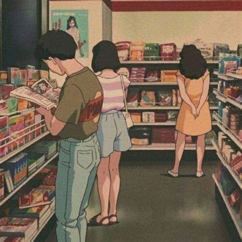 anime aesthetic af vaporwaveaesthetics