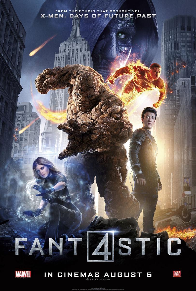 FANT4STIC (The Fantastic Four),  Cuatro Fantásticos, película, blog de cine, blog solo yo, solo yo,