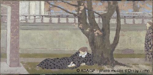 La terrasse, Ker-Xavier Roussel, 1892