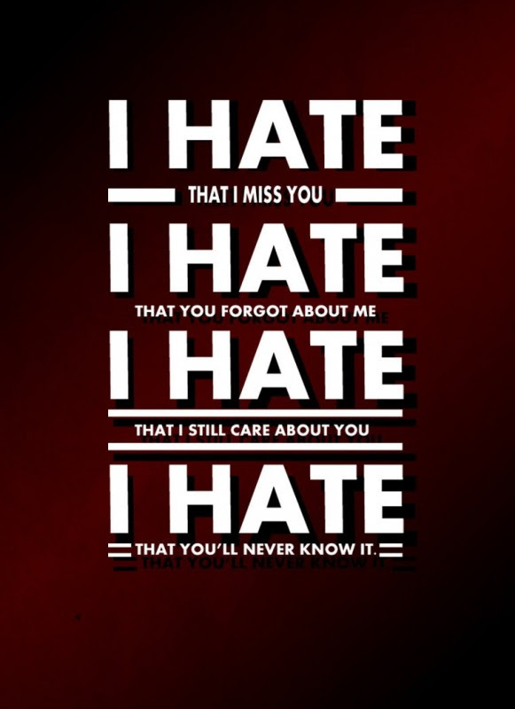 I Hate You But I Love You Quote Quote Number 680933 Picture Quotes